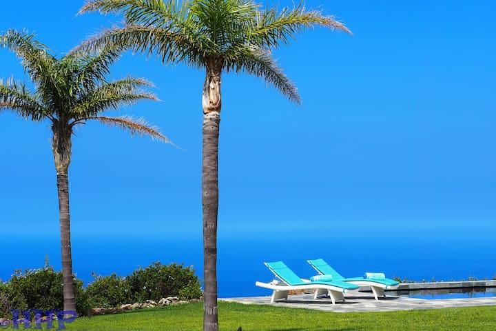 Breathtaking ocean views, stunning home, pool, spa