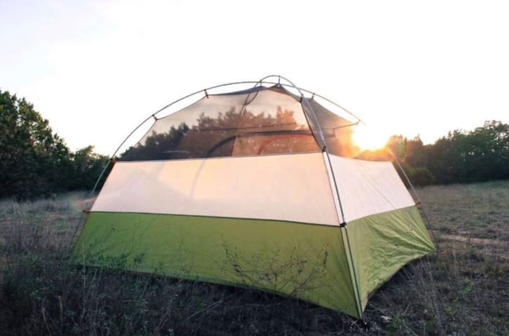 Wide- open country field great for Camping ⛺️  & viewing