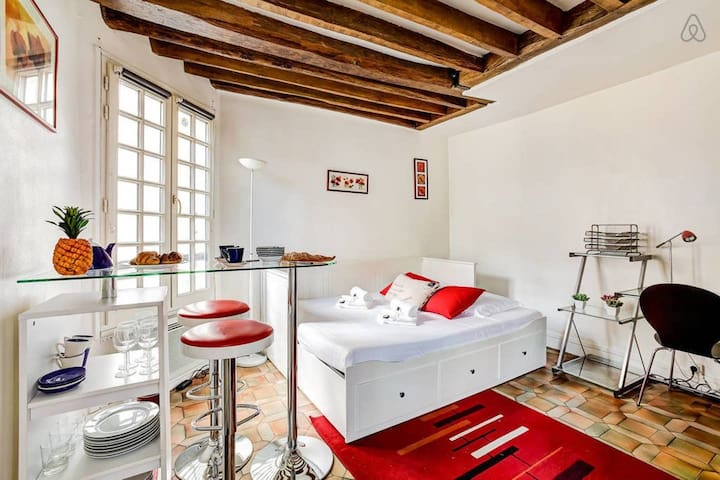 Bright and Dreamy, Gorgeous Studio in Latin Quarter