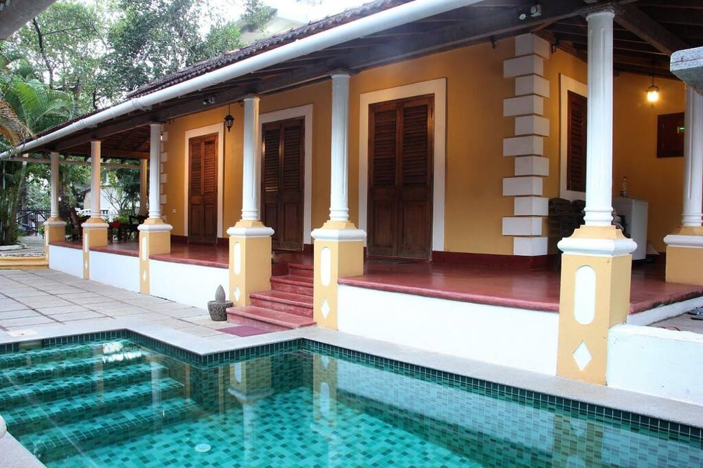 Pool & Master Bedroom