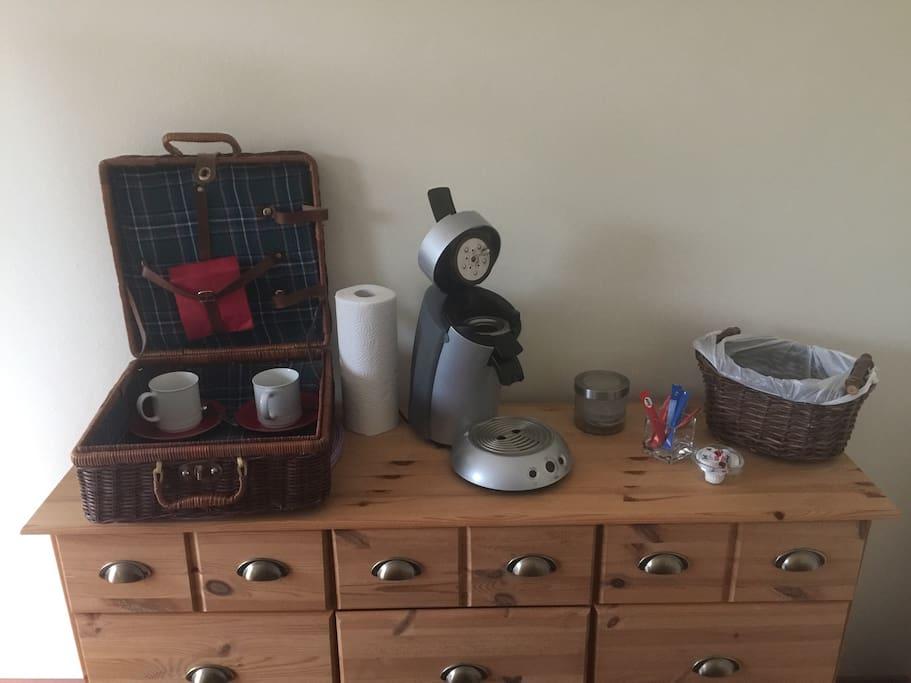 Kleine Kaffestation