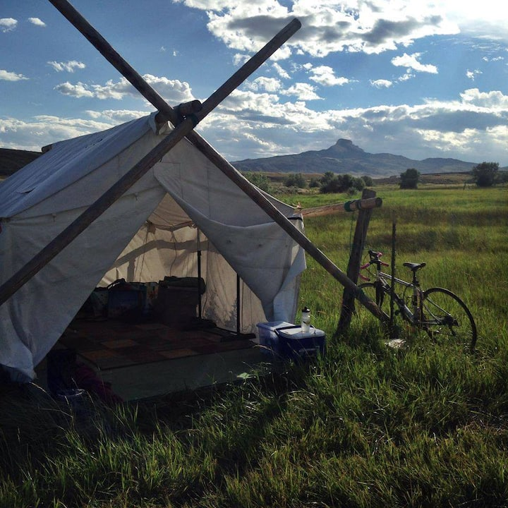 Small Wall Tent #2 /CowboyBreakfast