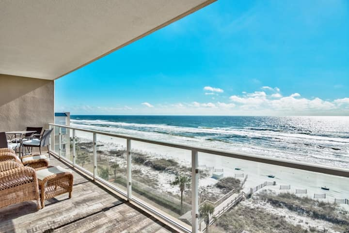 STERLING SEASHORE 606 | GULFVIEWS | STEPS TO BEACH
