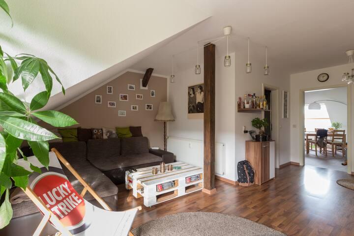 Zentrale Wohnung | ruhige Lage - Erfurt - Apartamento