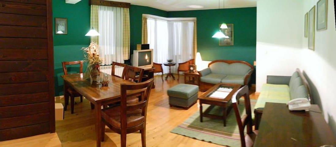 Apartman sa dve spavaće sobe, dnevni boravak