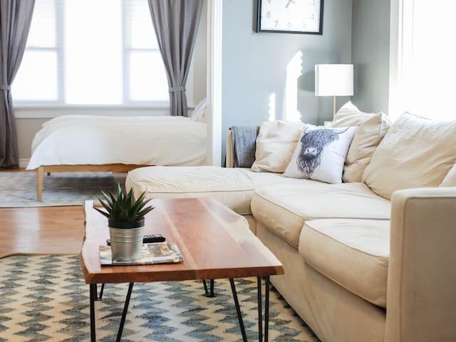 Bright and Beautiful Downtown Kitchener Apartment