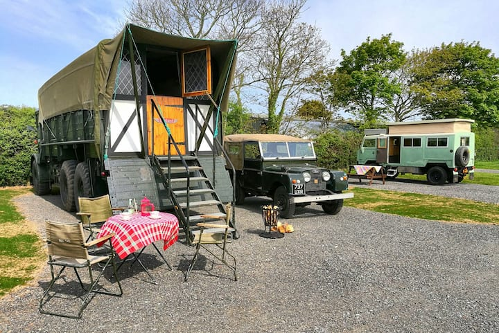 Anglesey AWOL glamping / #Lady Jess