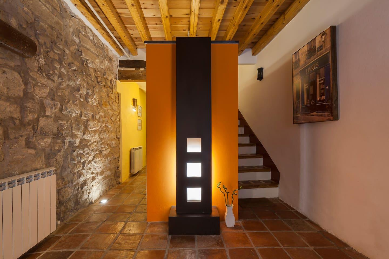 """""""Casa Malvasía"""" Centro Historico, cuatro plantas."""