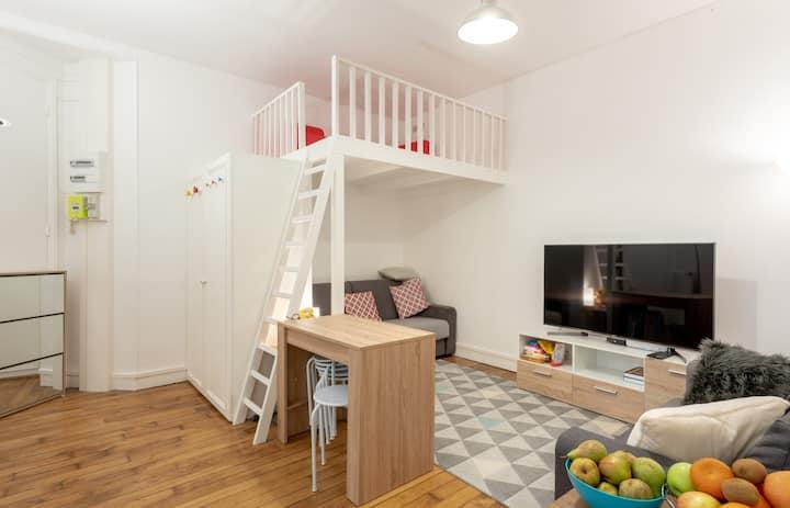Pleasant apartment near the Seine in Paris