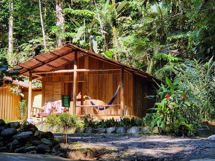 Cabins immersed in Costa Rica Nature (1-8 people)