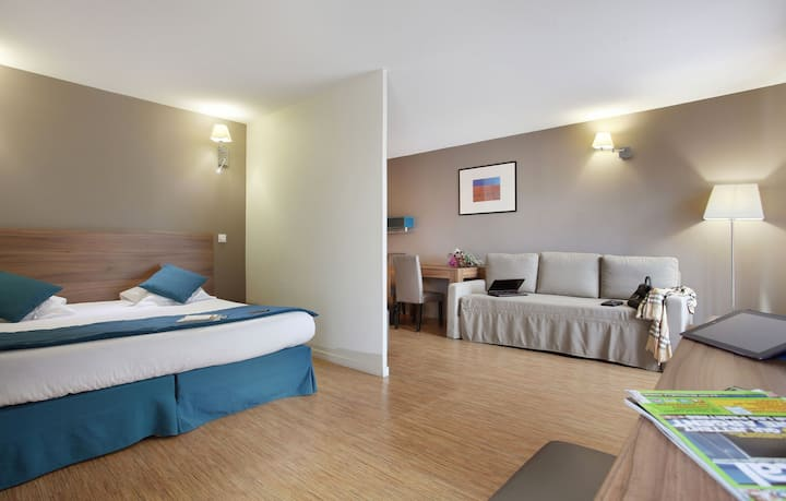 Junior Suite au Centre de Lyon! Wi-Fi GRATUIT + Kitchenette Equipée