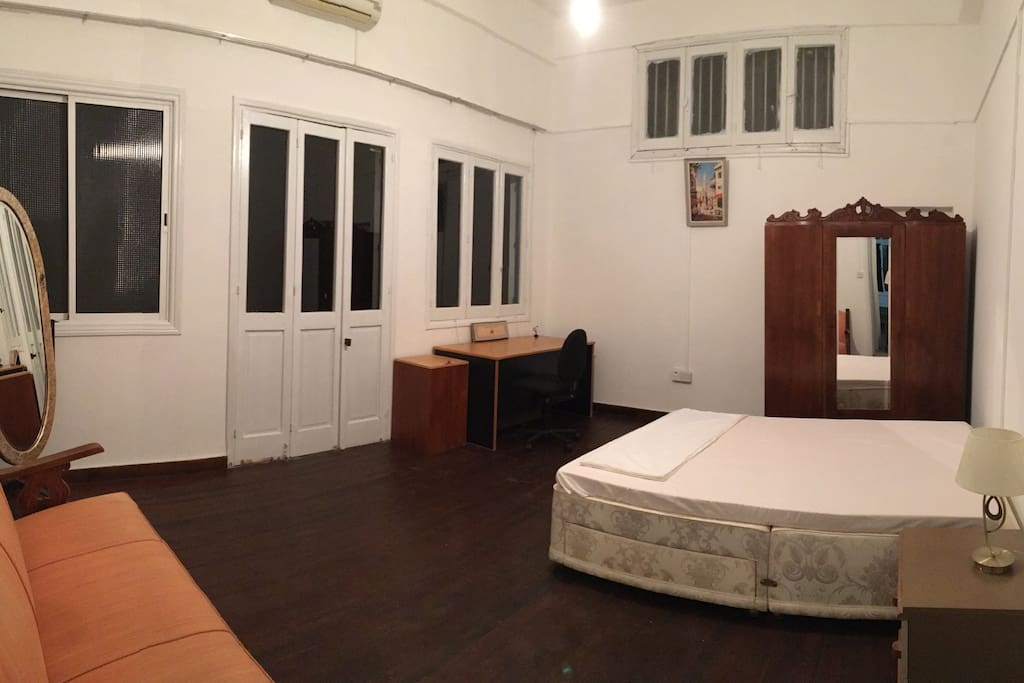 Private room with private balcony.  Mattress topper by tempur!