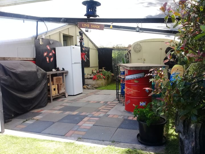 Glamping on Whitby -a Quirky wee place to stay