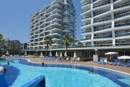 Уютные апартаменты в одном из лучших комплексов - Cikcilli Belediyesi - Daire