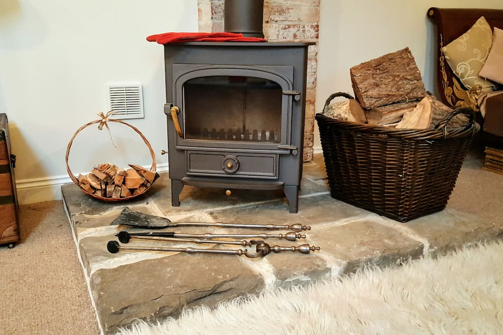 Warm & comforting log burner