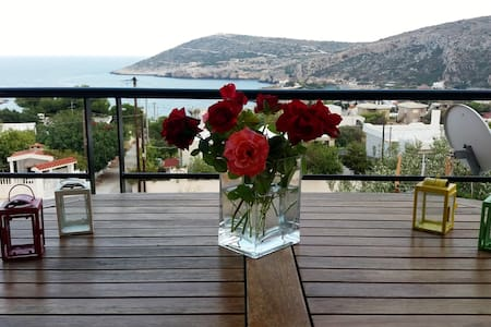 Seaview Beach House Near Athens 20min from Airport - Keratea - 별장/타운하우스