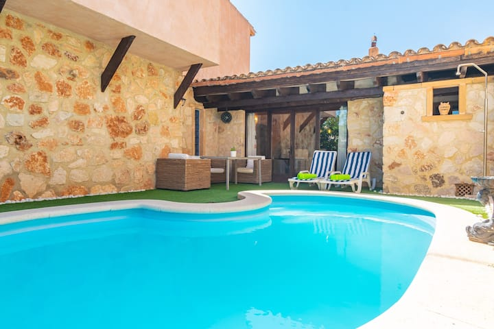 CAS MURE - Fantastic house with private pool, ideal for families Free WiFi