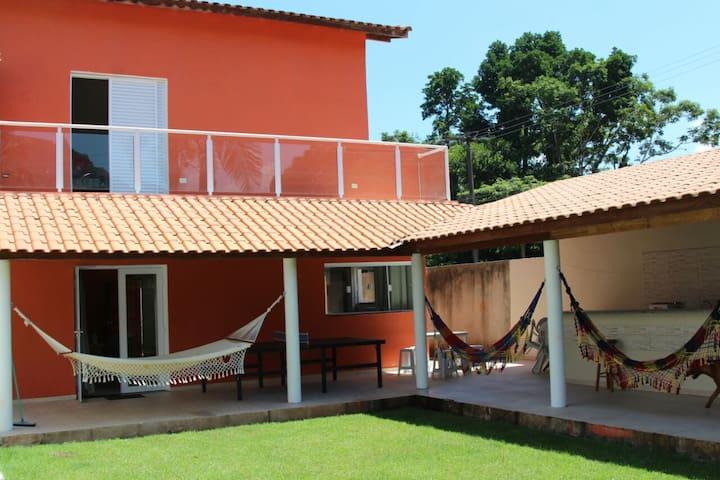 casa grande e espaçosa  em Barra do Una.