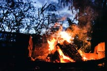 Perfect bonfire.