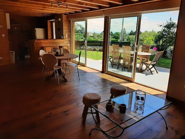 Maison avec vue  en Ardèche Verte 4-6 personnes