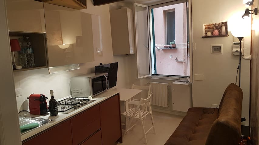 Casa dello Zucchero, al Carmine in centro a Genova