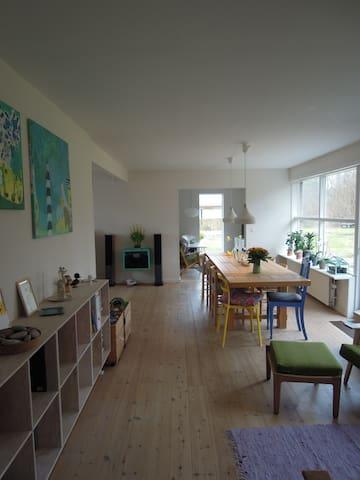 Stort og familievenligt hus - Bindslev