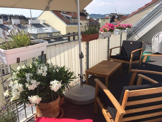 15mins to center ROOFTOP apartment (best price)