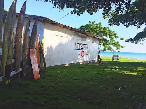 The Longboarder Surf Hostel -  Ocean Front Room
