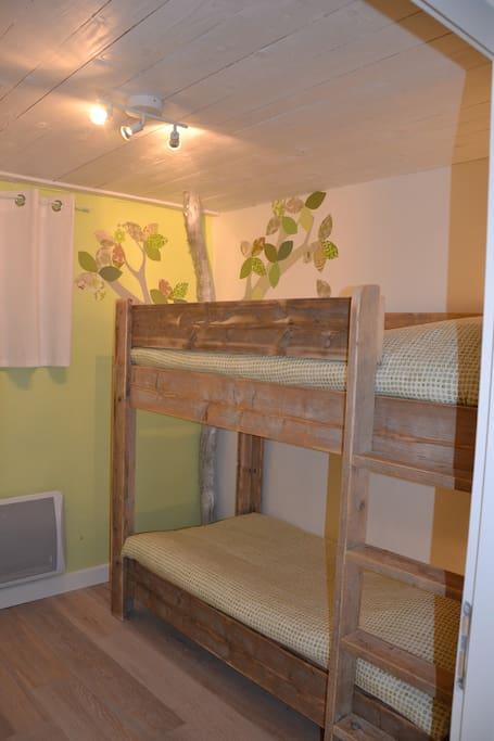 The kids bedroom