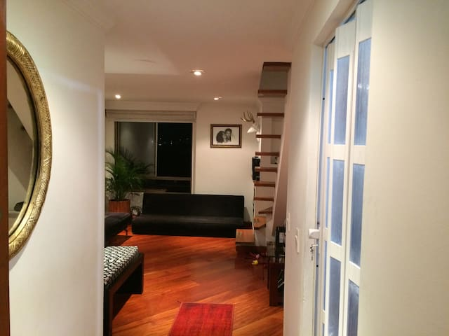 INDEPENDENT BEDROOM IN DUPLEX WITH EXCELLENT VIEW - Bogotá