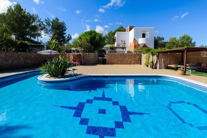 """Stunning Holiday Home """"Can Llucia"""" with Pool, Garden, Terraces & WiFi; Parking Available in the Street"""