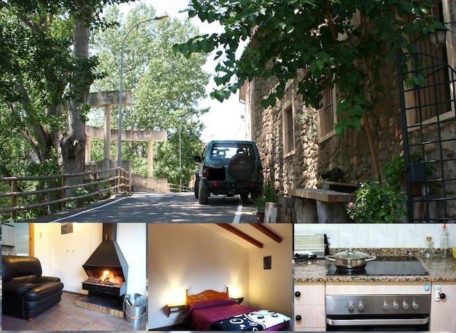 Appartements dans charmant village, avec AC