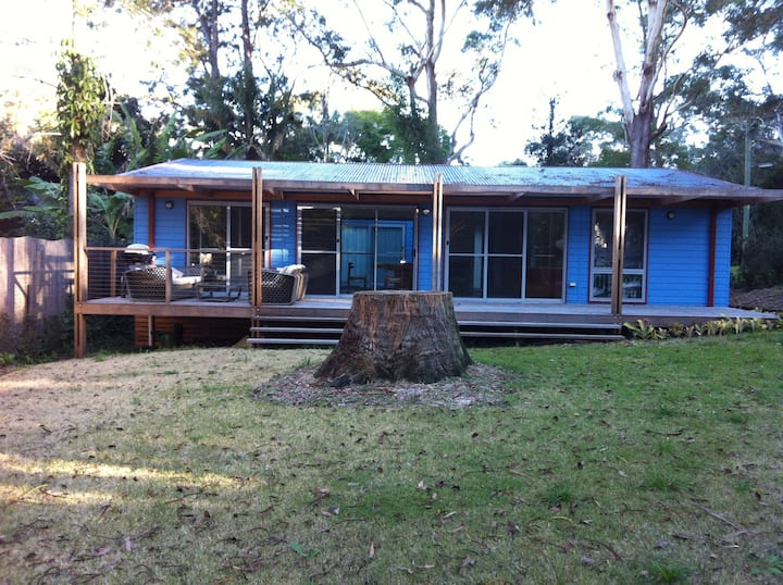 Dangar Island Blue House
