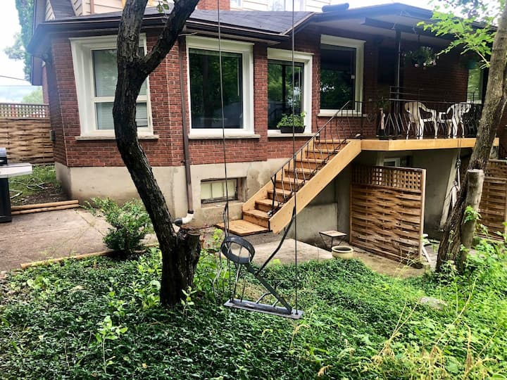 rustic apartment close to bell park & downtown