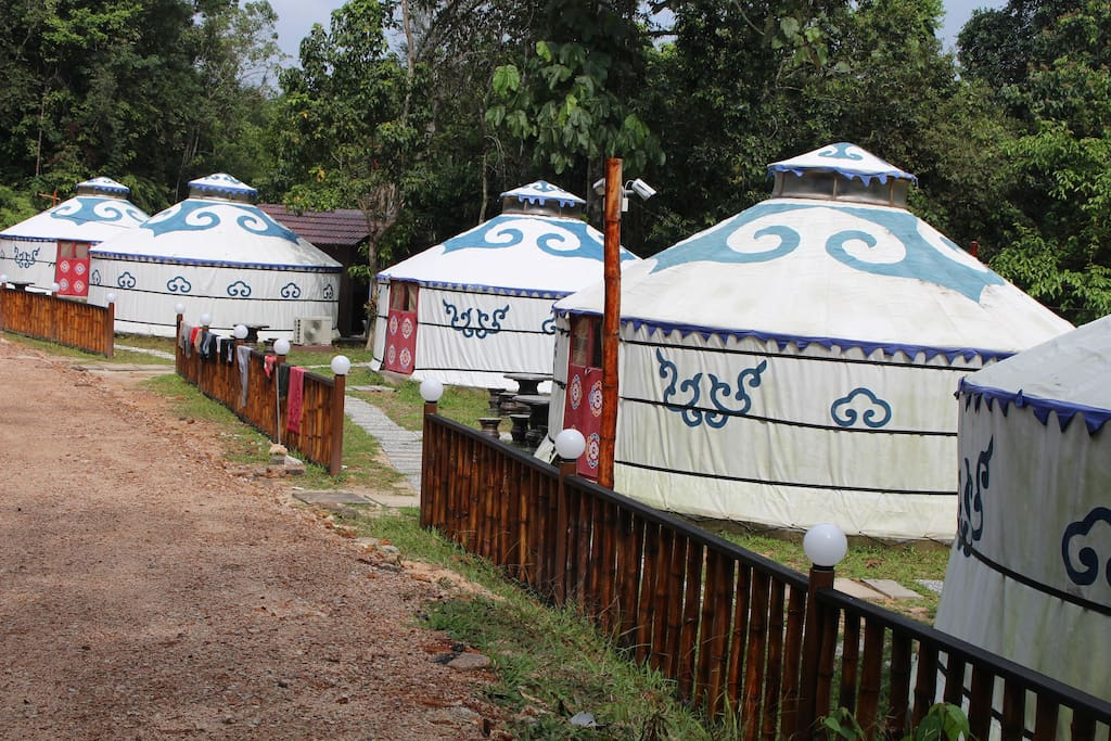 Mongolia Yurts - The exclusive and unique resort first introduced in Malaysia Johor Bahru