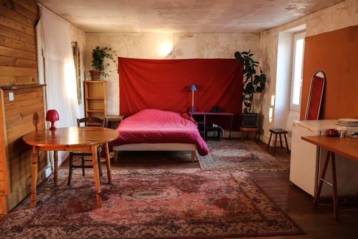 Graulhet . Chambre avec nombreuses commodités