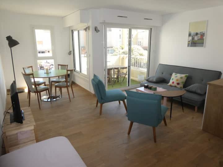 Très bel appartement en centre port, piscine