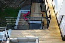 les terrasses de la résidence