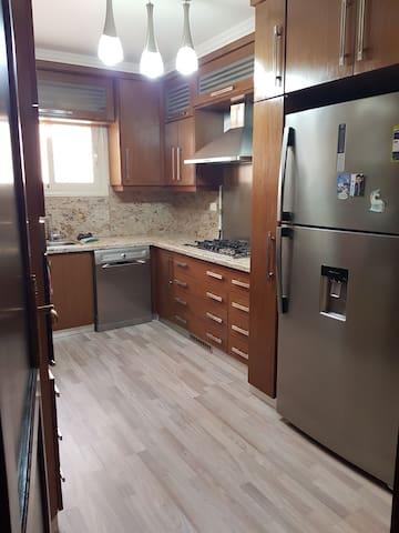 Fully furnished Big Apartment in Maadi