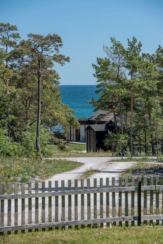 Havsutsikt  på Fårö Gotland - Gotland N