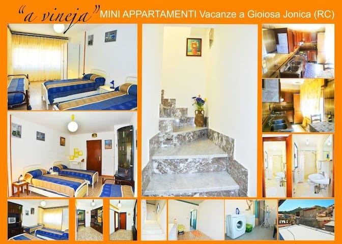 AFFITTASI MONOLOCALE in CENTRO - Gioiosa Ionica - บ้าน