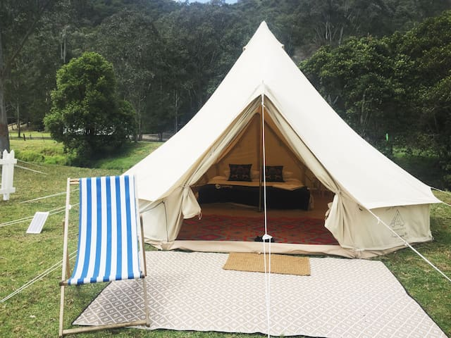 Glamping in Cattai National Park - Pitt Town - Stan