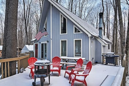 Charming 3BR Pocono Lake House Near Skiing! - Distretto di Coolbaugh