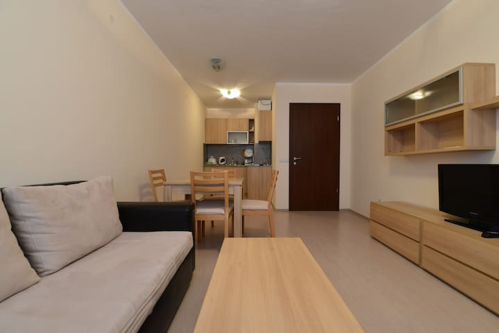 Comfortable 1 bedroom apartment near lift - Borovets - Apartmen perkhidmatan