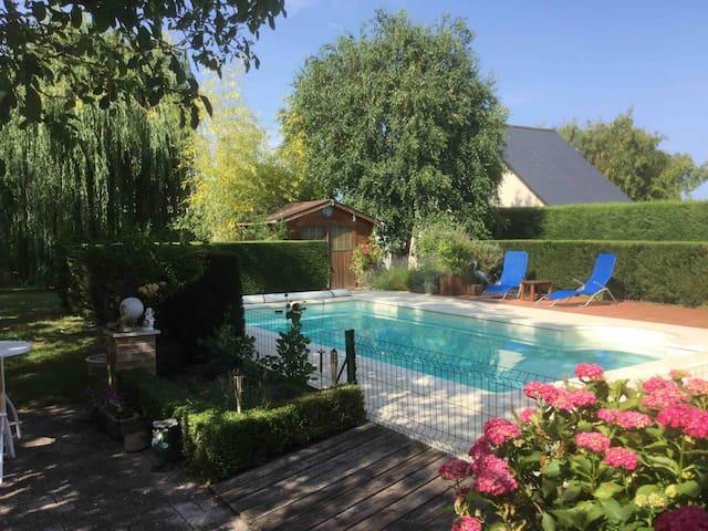 Chambres près Château Chenonceau & Zoo Beauval