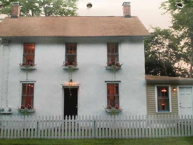 19 Century Charming Stone House - New Hope - House