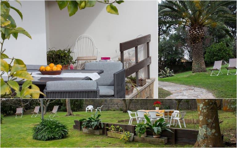 Casa zona playa con amplio jardin A Coruña Galicia - Perillo