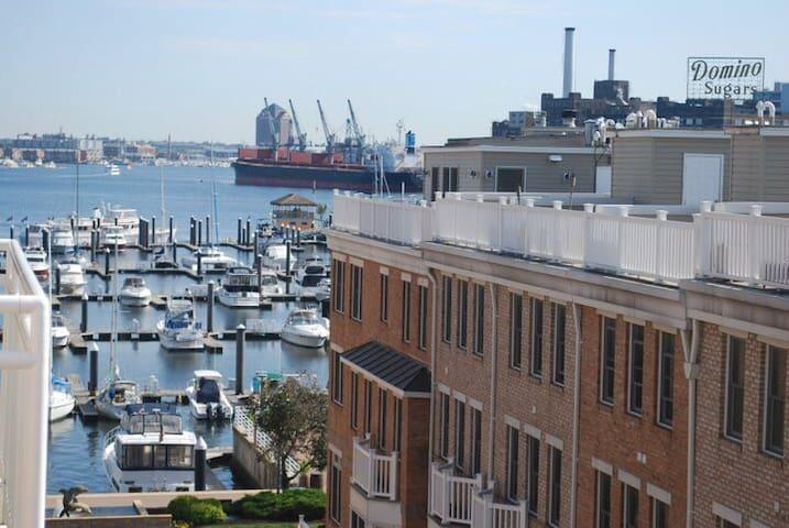 Scenic Harbor Views in Luxury Condo - Baltimore - Condominium