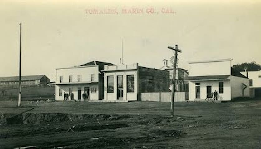 The William Tell House as rebuilt in 1921