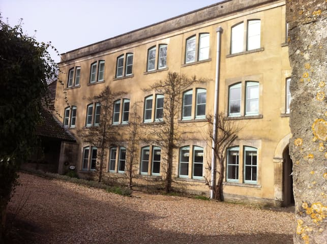 Apartment in 18th C Mill Freshford - Bath and North East Somerset - Appartement